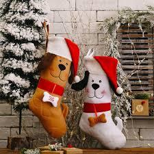 China Cute Dog Christmas Stockings Xmas ...