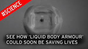 non newtonian fluid armor. liquid body armour is better at stopping bullets than kevlar say creators - mirror online non newtonian fluid armor