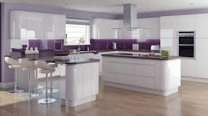 White Gloss Kitchen Solo Gloss White Our Kitchens Chippendale Kitchens