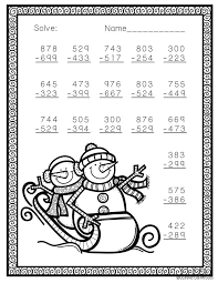 Christmas Math Worksheets 4Th Worksheets for all | Download and ...