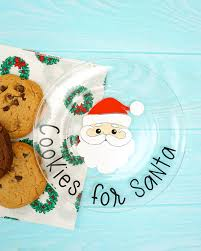 Compatible with silhouette studio, cricut design space, scan n cut, adobe illustrator and other cutting and design programs. Cookies For Santa Plate Free Christmas Svgs Happiness Is Homemade