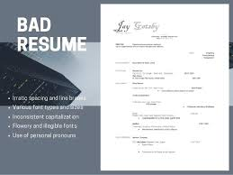 Image Result For Bad Resumes Fonts To Use On A Resume Free Extraordinary Bad Resumes