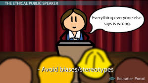 Public Speaking Definition Being An Ethical Speaker Guidelines Issues Video Lesson