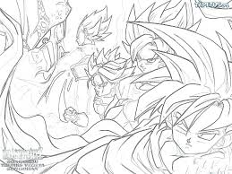 dragon ball z coloring pages free pictures cages of book dragon ball z coloring book pages