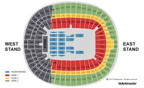 Eagles Seating Chart Eagles At Wembley Stadium How To Get Tickets Prices And