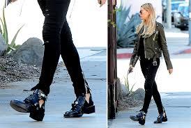 chanel ankle boots. hailey-baldwin-balenciaga-ceinture-ankle-boots chanel ankle boots