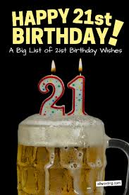 Someone 21st Allwording How Wish com A Happy Birthday » To