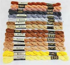 Dmc Perle Cotton Embroidery Floss Size 3 Color Series 400 Pearl Gray 415