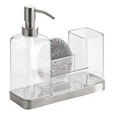Amazon.com - InterDesign Forma Kitchen Caddy with Soap Dispenser ...