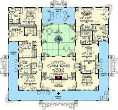 dream house plans. Open Courtyard Dream Home Plan - 81384W   Architectural Designs House Plans