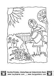 Color milestones why is learning colors challenging? Garden Coloring Page Images For Kids Coloring Home