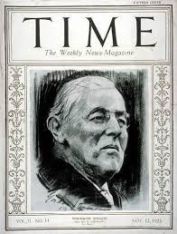 TIME Magazine Cover: Woodrow Wilson - Nov. 12, 1923 - U.S. Presidents -  Politics