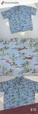 Reyn Spooner Size Chart Rare Joe Kealoha Reyn Spooner Hawaiian Shirt Xl Vintage Joe