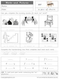 Welcome to esl printables, the website where english language teachers exchange resources: Air Phonics Worksheets And Games Galactic Phonics