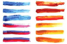 Water Color Brush Large Watercolor Splatter Brushes Watercolor Brush
