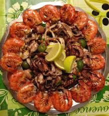 Cold seafood salad Italian recipe ...