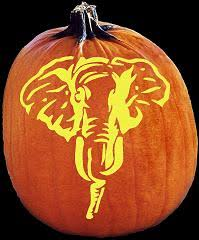 Elephant Pumpkin Carving Pattern Delectable SpookMaster Republican Party Elephant Pumpkin Carving Pattern Gift