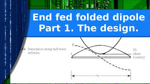 End Fed Dipole Antenna Design Ham Radio An End Fed Folded Dipole Experiment Part 1 The Idea And Design
