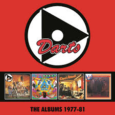 Uk Singles Chart 1977 The Darts The Albums 1977 81 4cd Clamshell Boxset
