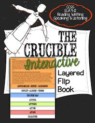 the crucible reading literature guide flip book book format  the crucible interactive flip book formatted so you will have to make just one fold