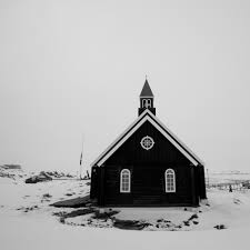 the seal hunters of greenland a photo essay hakai magazine a catholic church in ilulissat is a stark contrast against the snow