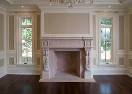 cast stone fireplace mantel very pretty architectural features in this room