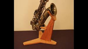 hardwood sax stand alto and tenor