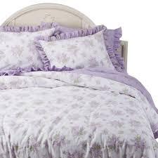 new simply shabby chic lilacs duvet shams fl bedding set lavender king