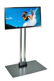 Tv Display Stand For Trade Shows Enchanting Floor Standing TV Stands Trade Show Monitor Displays Plasma LCD