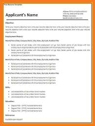 Latest Resume Download Free cv template south africa sow template 78
