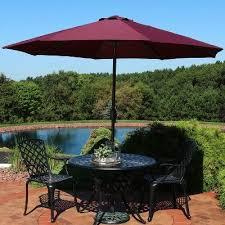 sunnydaze navy blue outdoor 10 foot