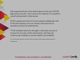 Pltw Pltw Eoc Information Careertech Ct Okcareertech Org
