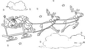 I Disegni Di Babbo Natale Da Stampare E Colorare Per I Bambini Foto