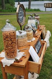 like the idea of putting out this type of snack for between wedding and reception wedding snackswedding