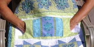 Lap Quilt Patterns Classy Lap Quilt With Pockets To Keep Hands Warm Or Even Hide Snacks
