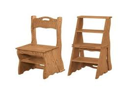 folding step stool plans wooden library step stool chair