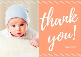 Baby Thankyou Customize 239 Baby Shower Thank You Card Templates Online Canva