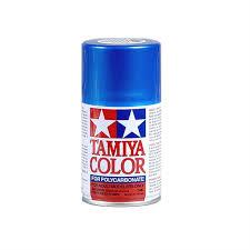 Tamiya Ps 16 Polycarbonate Spray Metallic Blue Paint 3oz Tam86016