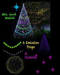 Christmas And Fairy Star Lights For Poser Emissive Light Props