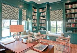 trendy home office. trendy home office decorating ideas contemporary with grommet curtains and drapes