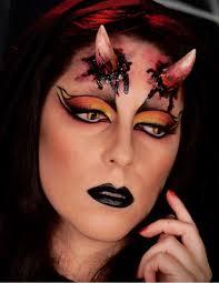 she devil halloween makeup