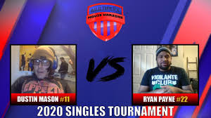 MWZ Singles Tournament Round 1: #11 Dustin Mason vs #22 Ryan Payne - YouTube