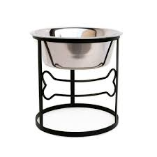 dog bowls and feeders orthopedic beds regarding single elevated bowl remodel 16