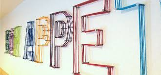 letter wall art create a mural effect with 3d wall art on wall art letters with wall art designs letter wall art create a mural effect with 3d wall