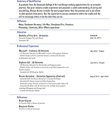 Animator Resume Custom Book Report Smart Custom Writing Service after effects 41