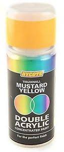 Mustard yellow paint Living Room Image Is Loading Hycotevauxhallmustardyellowdoubleacrylicspraypaint Ebay Hycote Vauxhall Mustard Yellow Double Acrylic Spray Paint