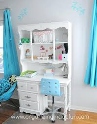 desk for girls turquoise bedroom chair and computer with hutch target