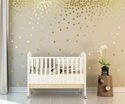metallic gold wall decals polka fancy gold polka dot wall decals