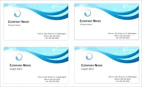 how to create business cards in word word decadry business cards template 2007 probe card create