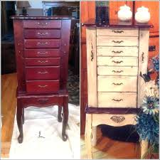 Large Jewelry Chest Armoire